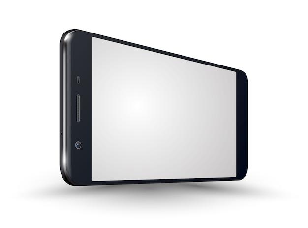 새로운 현실적인 휴대 전화 블랙 스마트 폰