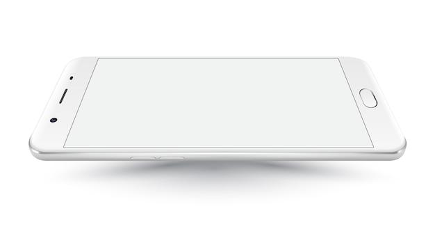 새로운 현실적인 휴대 전화 화이트 스마트 폰 iphon 스타일 이랑