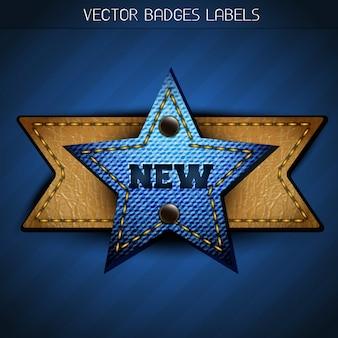 New star label