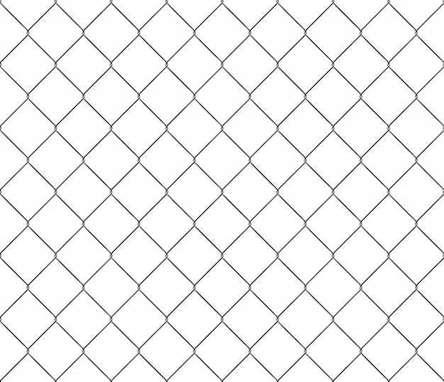 New steel mesh metal fence seamless structure pattern