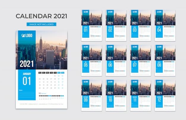 New wall calendar