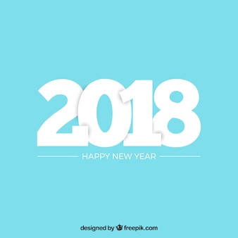 New year 2018 background