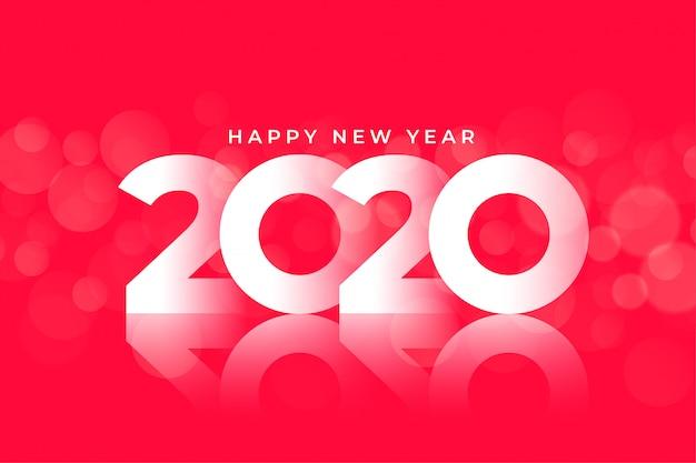 New year 2020 glossy