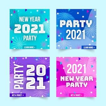 Raccolta di post instagram festa di capodanno 2021