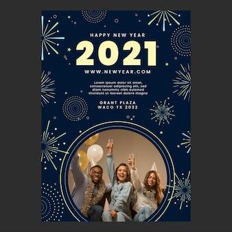 Manifesto del nuovo anno 2021 a4
