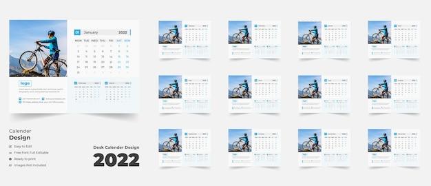 Настольный календарь на новый год 2022