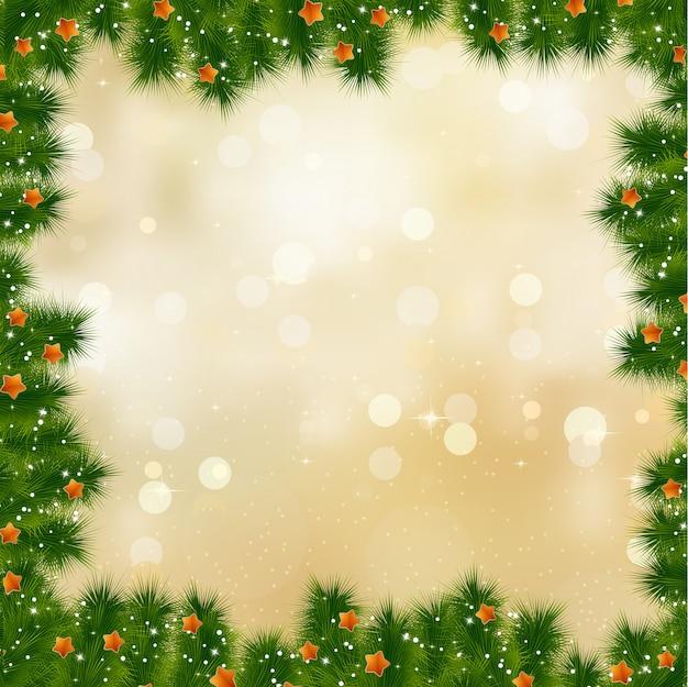 Новогодняя и рождественская открытка.