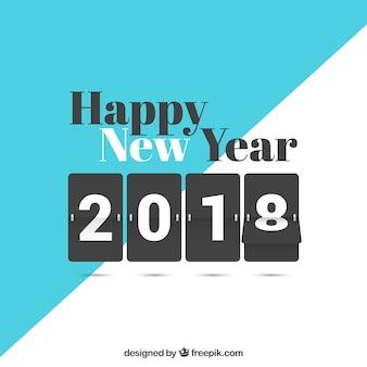 新年の背景2018