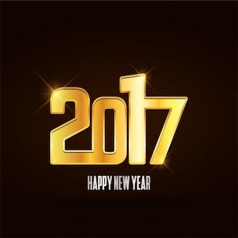 New year background design