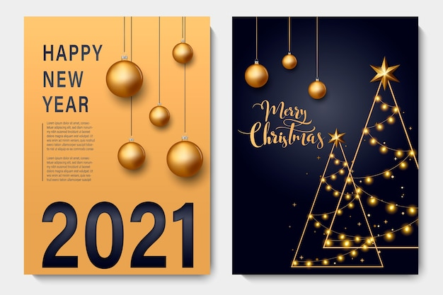 New year background for holiday greeting card