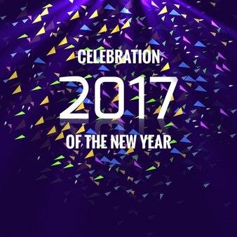 Красочные новый год 2017 backgrouned