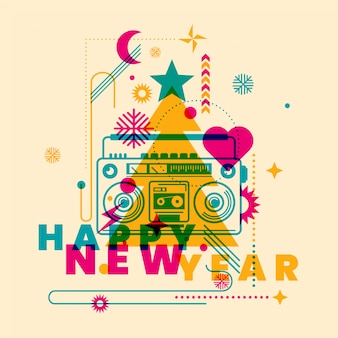 New year background
