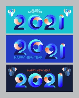 New year banner.