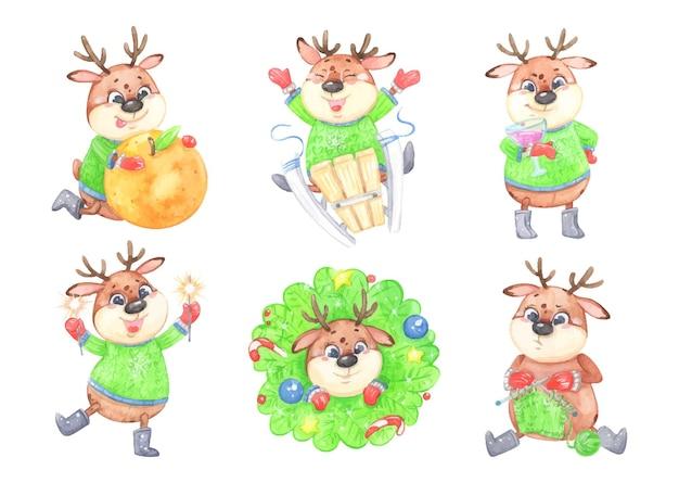 새해 사슴