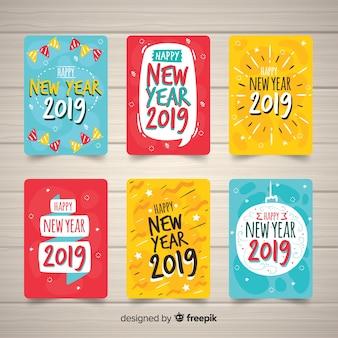 New year greeting 2019