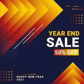 New year sale background premium