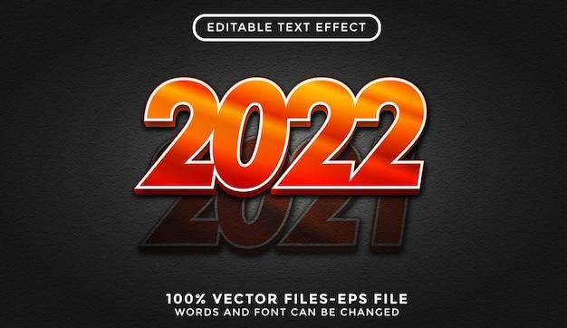 Новогодний текст с золотой текстурой. редактируемый текстовый эффект премиум векторы