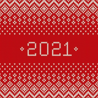 Новый год. зимний праздник бесшовные вязаные фон. имитация текстуры шерсти
