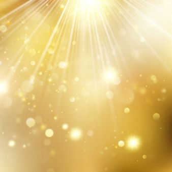 New year and xmas defocused background with blinking stars. christmas golden holiday glowing backdrop. and also includes
