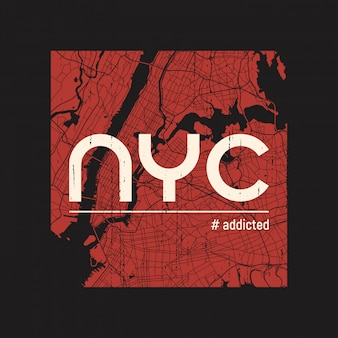New york addicted tshirt and apparel