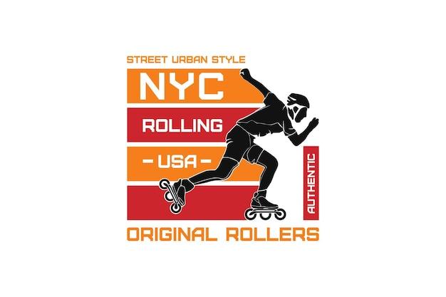 뉴욕시 원래 우리를 롤링, 모형 sleety 상품 모형