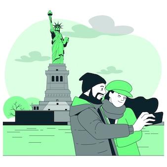 ニューヨークの概念図