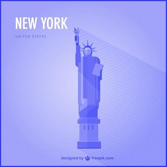 Нью-йорк вехой вектор