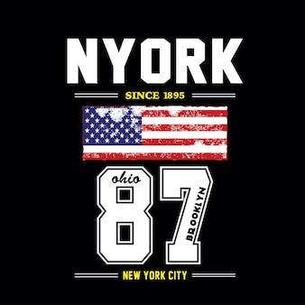 New york t shirt design