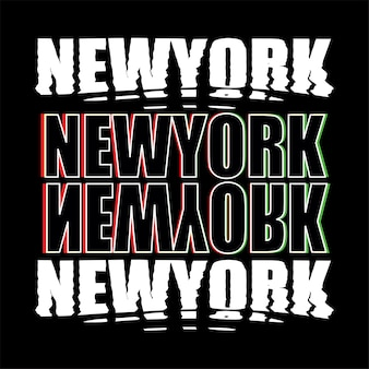 New york t shirt design