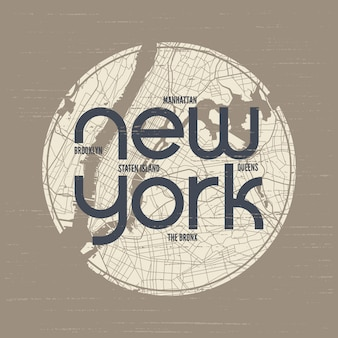 뉴욕 티셔츠 및 의류