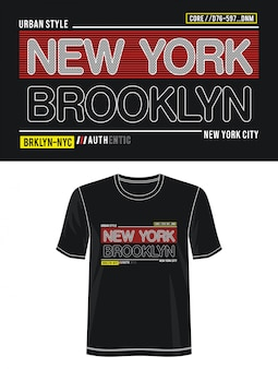 Нью-йорк типография для печати майка