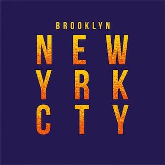 New york - typography