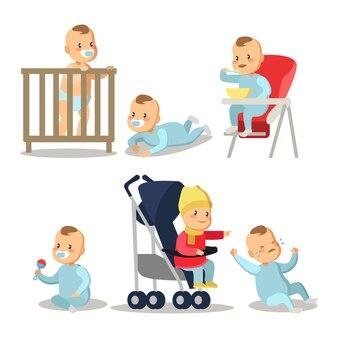 Набор мультфильмов для новорожденного мальчика