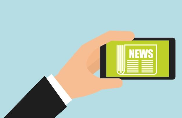 News concept design, vector illustration eps10 graphic