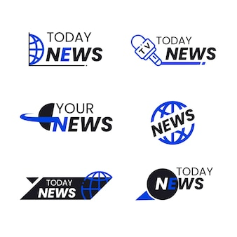 News logo collection concept