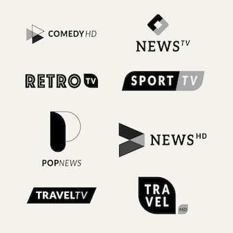 News logo collection template