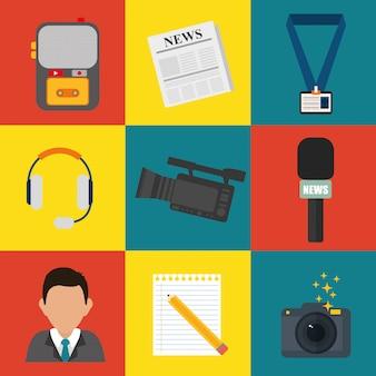 News media and broadcasting