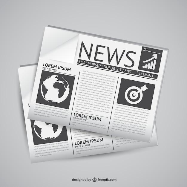 newspaper vectors photos and psd files free download rh freepik com newspaper victoria tx newspaper vector free