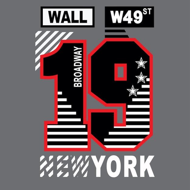 Newyork t shirt design