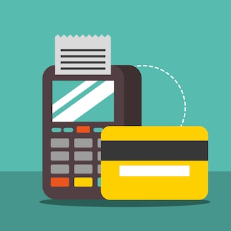 Nfc payment technology dataphone pay credit card