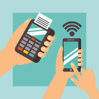 Nfc payment technology hands
