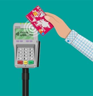 Nfc payments concept