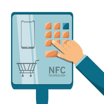 Nfc支払いの設計コンセプト