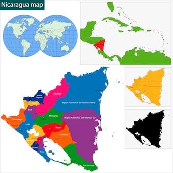 니카라과지도