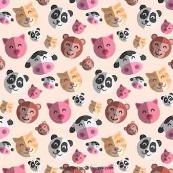 좋은 동물 패턴
