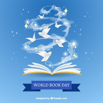 Nice background for the world book day
