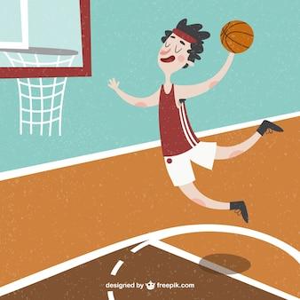 좋은 농구 선수 배경