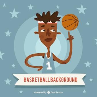 좋은 농구 선수 별 배경