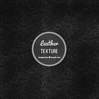 Nice black leather texture