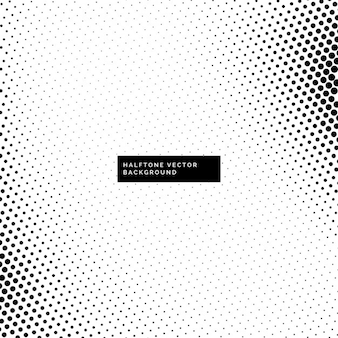Nice black and white background with halftone dots